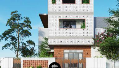Mẫu thiết kế biệt thự phố 3 tầng hiện đại độc đáo tại quận 12